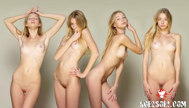 фото голих тощих дівчат