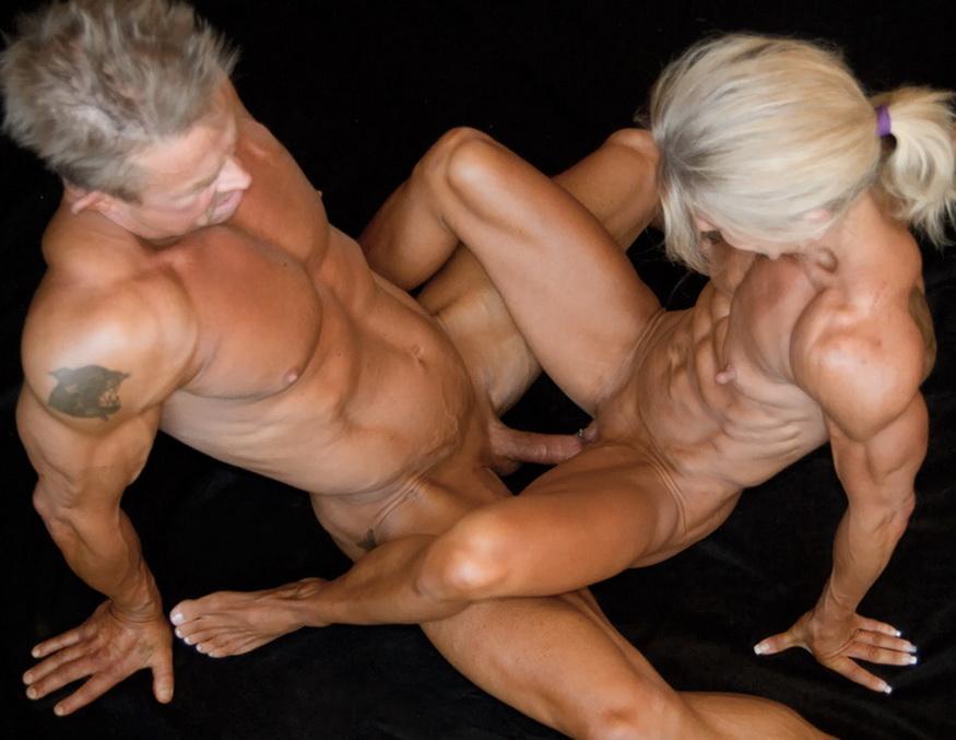 секс фото с культуристками