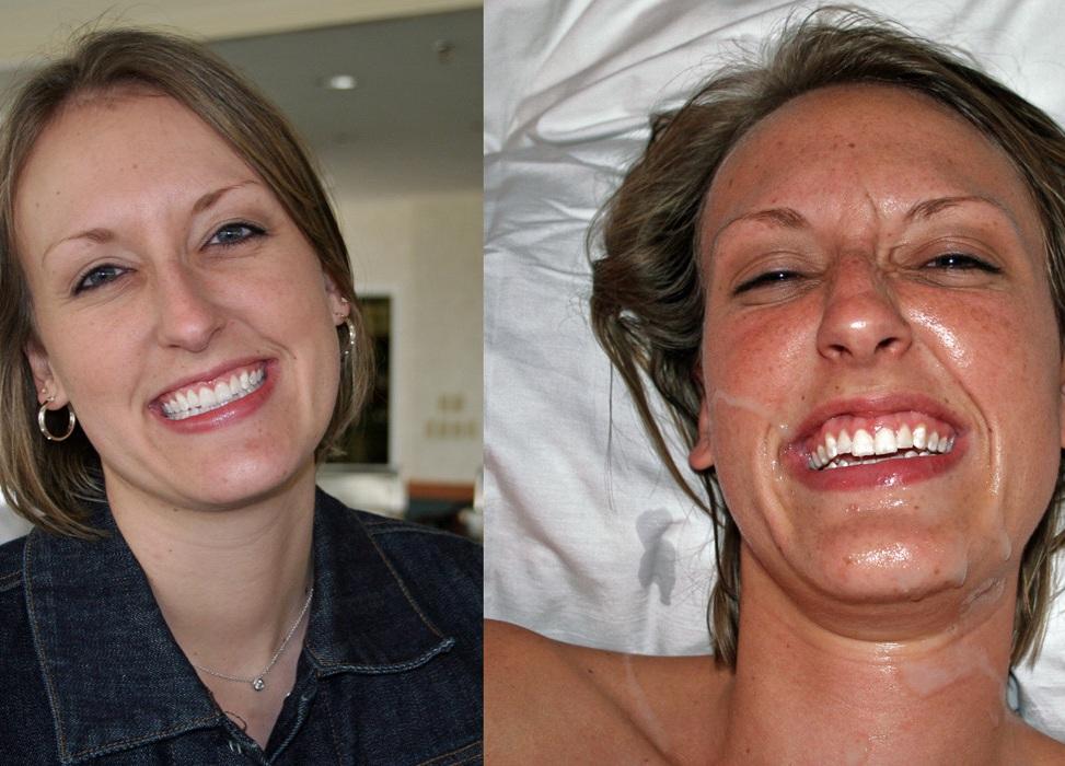 фото лицо до и после камшота