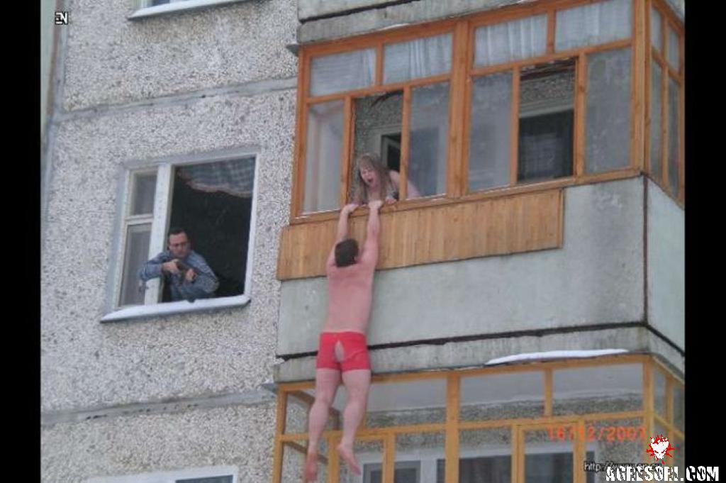 Полный офф про балкон * популярное оружие.